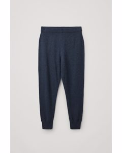 Recycled Cashmere Joggers Navy