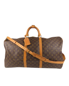 Louis Vuitton Monogram Keepall Bandouliere 60 Brown