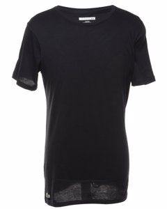 Lacoste Black Plain T-shirt