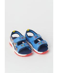 Sandalen mit Druck Blau/Paw Patrol