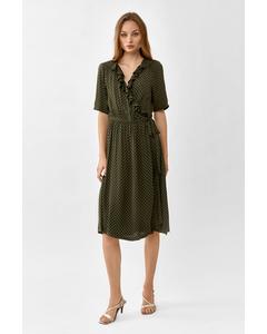 Henny Dress  Dark Khaki