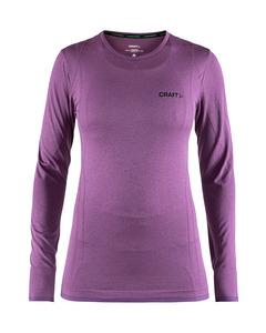 Active Comfort Roundneck Ls W - Tune-purple-m