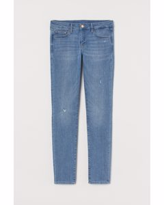 Super Skinny Low Jeans Blau/Trashed