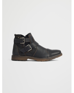 Boots Chelsea Black