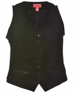 1990s Button Front Waistcoat
