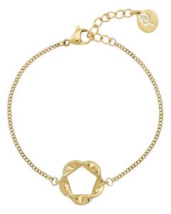 Swirl Bracelet Gold