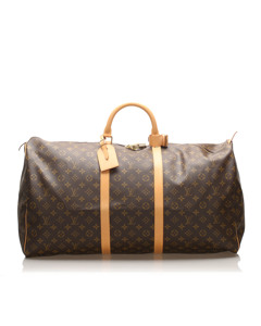 Louis Vuitton Monogram Keepall 60 Brown