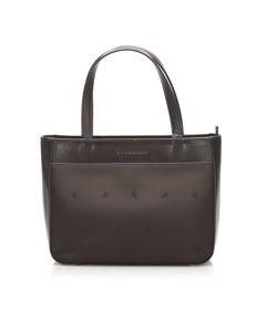 Burberry Nylon Handbag Brown