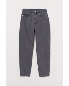 Mom Loose-fit Ultra High Jeans Grå