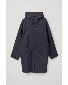Waterproof Overcoat Navy