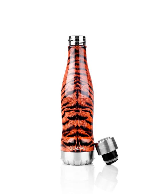 Glacial Bottle Wild Tiger 400ml  Orange