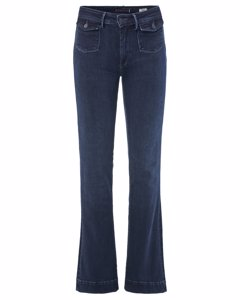 Push Upboot Cut High-waisted Jeans
