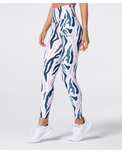 Full Print Zebra Highwaist Leggings