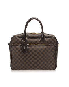 Louis Vuitton Damier Ebene Icare Laptop Bag Brown