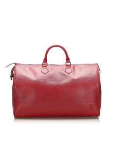 Louis Vuitton Epi Speedy 40 Red