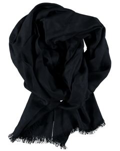 Scarf Solid Navy Navy