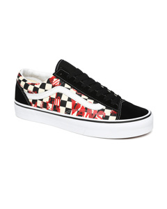 Ua Style 36 M (vans Crew) Checkerboard/red