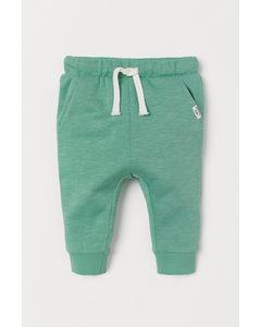 Cotton Joggers Mint Green