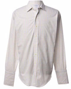 1980s Brooks Brothers Checked Shirt