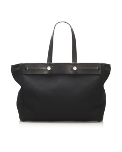 Hermes Herbag Cabas Gm Black