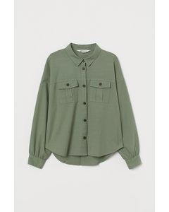 Utilityskjorta Ljus khakigrön