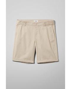 Acid Shorts Dusty Beige