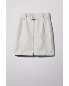 Belted Skirt Grey