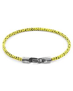 Gelbe Noir Talbot Silber Und Seil Armband