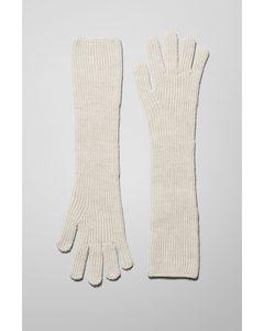 Long Gloves Off-white
