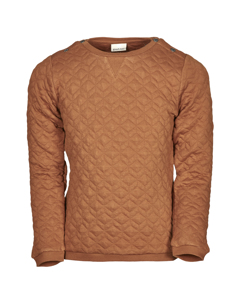 En Fant Ls T-shirt B Leather Brown