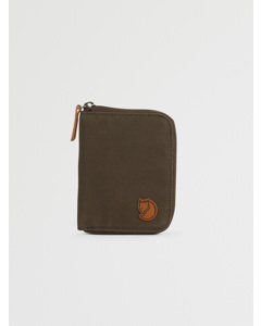 Zip Wallet Dark Olive