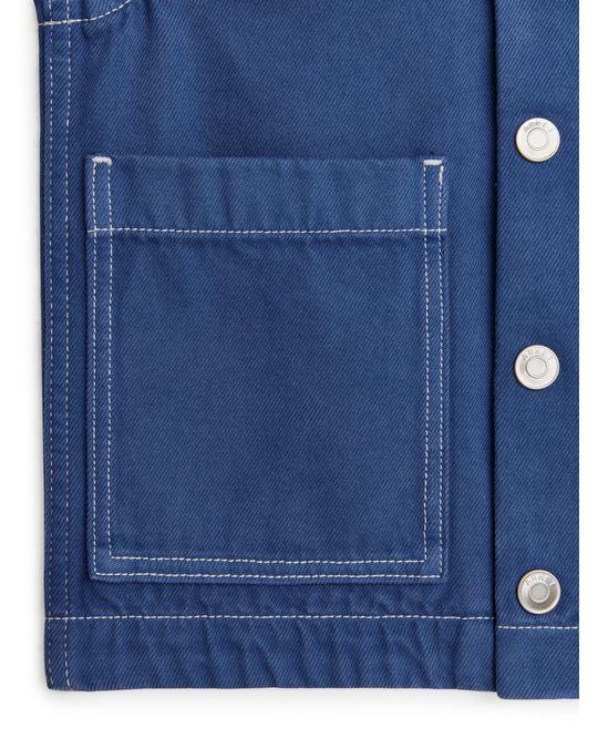 Arket Workwear Jacket Blue