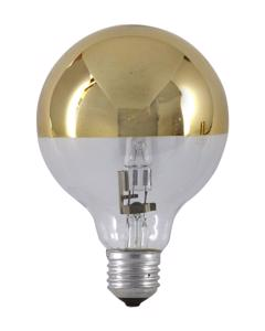 Halogen Mirror Globe Gold 18w(25w) 80mm