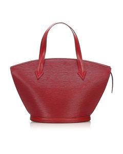 Louis Vuitton Epi Saint Jacques Pm Short Strap Red