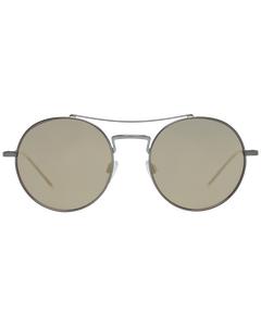 Emporio Armani Mint Unisex Silver Sunglasses Ea2061 30035a52 52-19-139 Mm