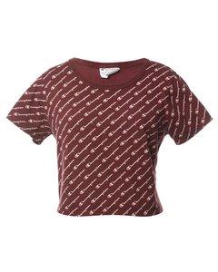 1990s Champion Printed T-shirt