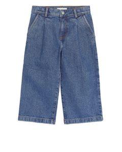 Weite Jeans Blau
