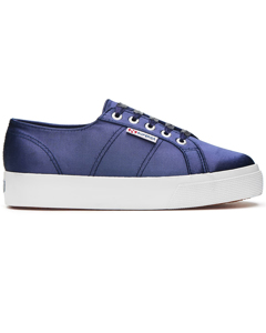 Superga 2730 Satinw  Blue Navy