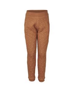 En Fant Pants Leather Brown