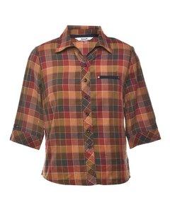 Petites Cheked Shirt