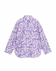 Relaxed Shirt Lilac/multi