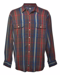 1990s Dockers Checked Flannel Shirt
