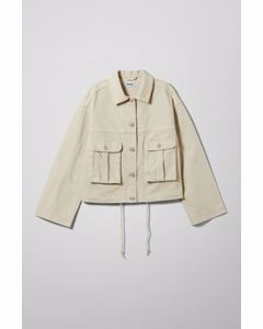 Helms Jacket Off White
