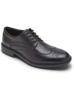 Tanner Wingtip Black