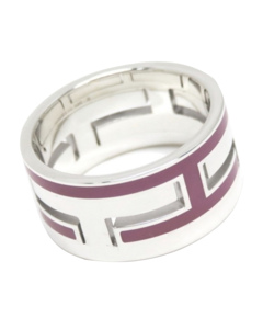 Hermes Move H Ring Silver