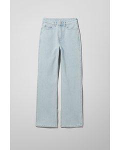 Rowe Split Jeans Blue Hill