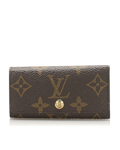 Louis Vuitton Monogram 6 Key Holder Brown