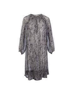 Zebra Print Bohemian Dress