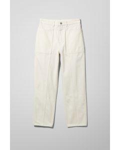 Mom-Jeans Allisyn Weiß