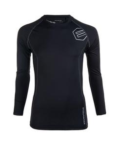 Crosbyton M Compression L/s Shirt Black